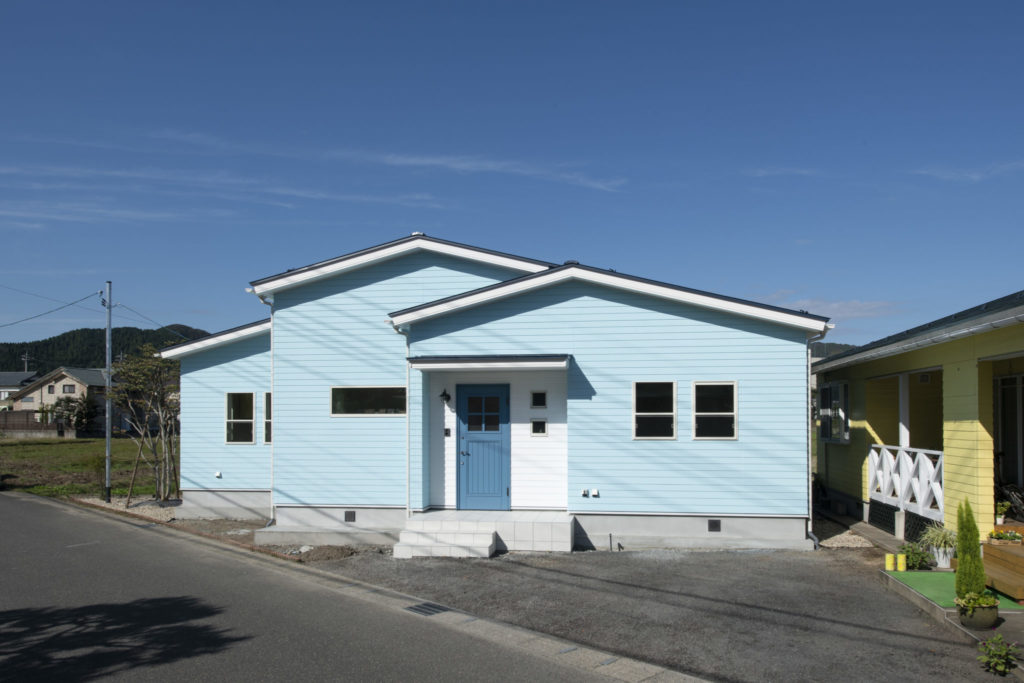 水色の家イメージ8