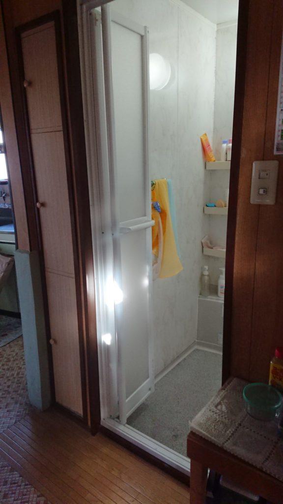 浴室のドアをリフォームAFTER