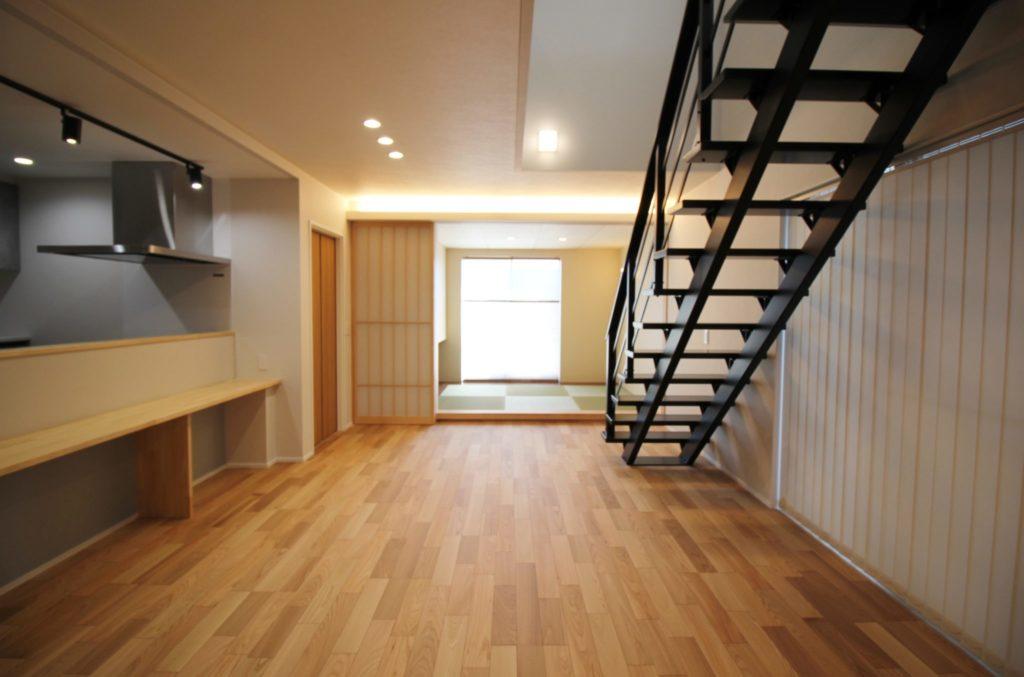 リビング階段のある家イメージ10