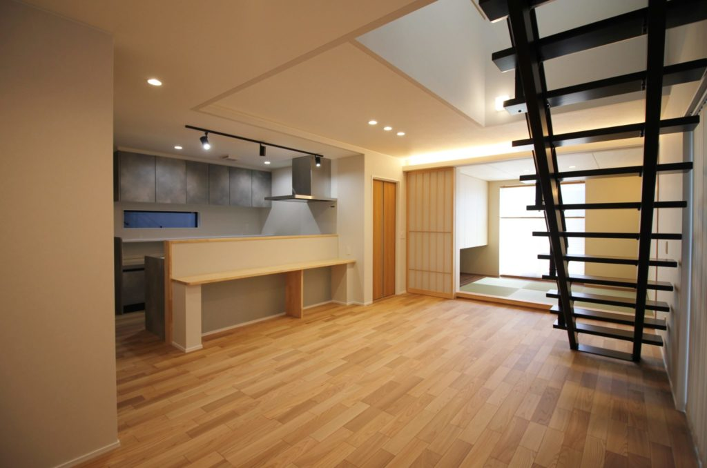 リビング階段のある家イメージ9
