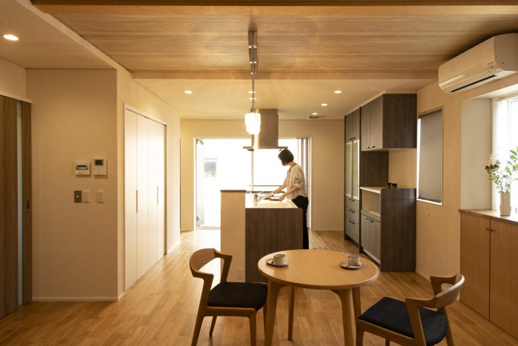 プライベートガーデンと繋がる家イメージ1