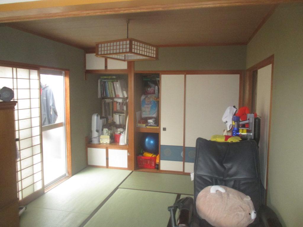 LDK・和室の改装BEFORE